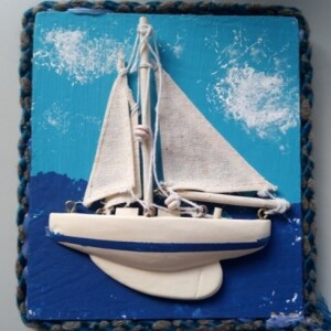 Azulejo barco - ref. AZULBAR