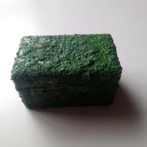 Caixa madeira verde pequena - CXPVERD