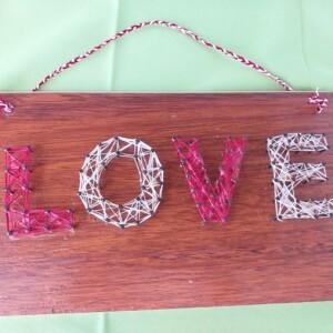 Placa 3D LOVE - 3DLOVE