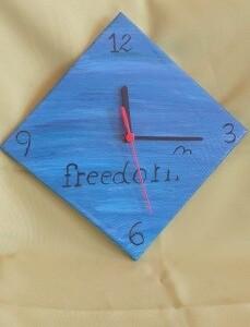 Relógio em azulejo - RELAZUL 2