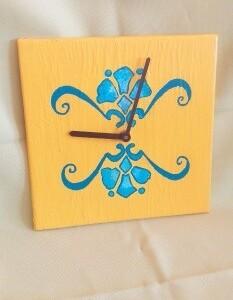 Relógio em azulejo - RELAZUL 3