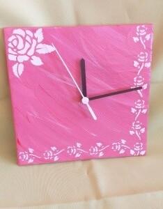 Relógio em azulejo - RELAZUL 7