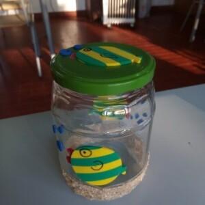 Frasco peixe areia - FAREIA