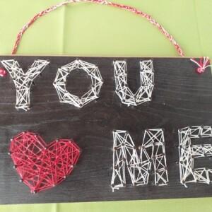 Placa 3D YOU LOVE ME - 3DYLM