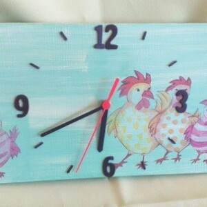 Relógio em azulejo - RELAZUL 5