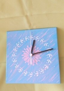 Relógio em azulejo - RELAZUL 6
