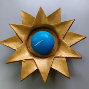 Sol com vela azul - SOLAZ