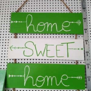 Triptico Home Sweet Home - HOMSHOM