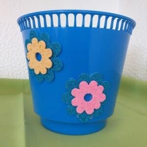 Vaso mar de flores plástico - VAPLAST